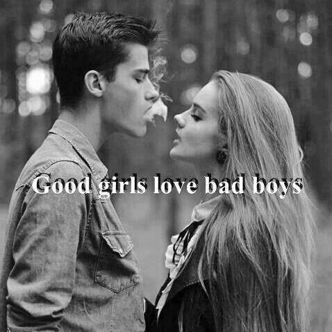 Boy Looking at Girl in Love Good Girls Love Bad Boys