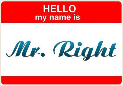 I Think I Found Mr. Right